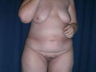 My naked body.