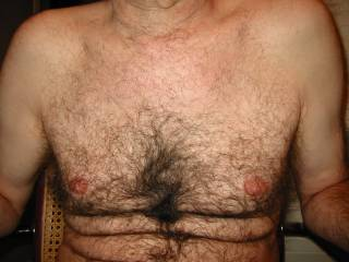 I wanted to show my hairy chest and get comments