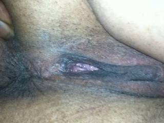 That is beautiful. I want to tongue fuck both hot holes.