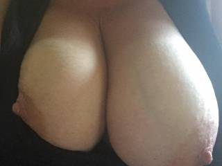 My sexy french girls big tits!  What would you do to them?