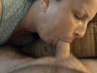 she love\'s to swallow and have cum all over her face, the more the better! anyone up for it?