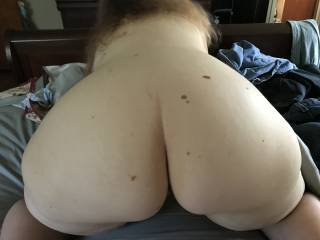 A new picture of my  big ol' booty.