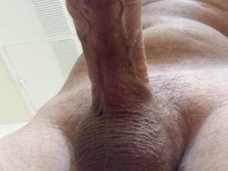 My curved dick
