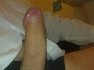 Mmmmmmm what a tasty yummy cock you have. Would love to lick you all over x