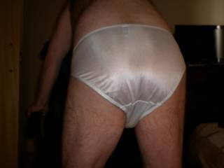 love to wear white sikly panties.need some help pulling these panties down?