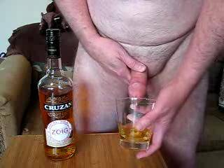 Oooooo, I loved watching you swallow a shot of Rum & Cum....I would have had mine a straight cum shot...right out of your cock.  You're a man with a pair of balls sweetie... You ever swallow a straight cum shot?  Oooo, so erotic. K