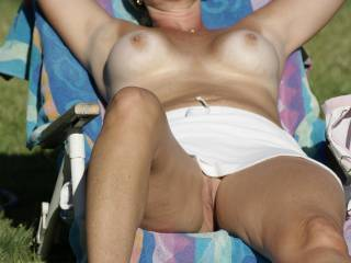 mmmm...I'm Lookin....You have a beautiful body,lovely breasts and your pussy looks very inviting and tasty