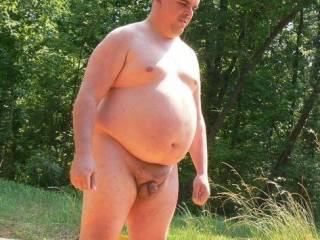 Big man's cock.