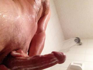 VERY HOT pic !! It makes me very horny, 'd love to be there beside you .....my ass against that beautiful cock