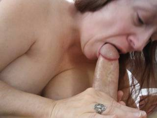 What a feast! My mouth is so ready for some hard thick cock. There is nothing better than cock!