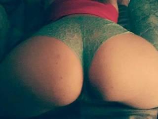 Her beautiful round ass