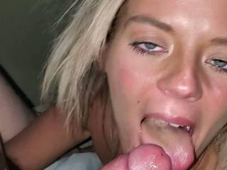 She loves to suck cock who\'s next?