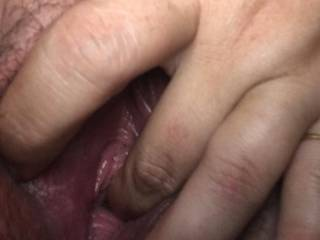 Rubbing and fingering myself wishing a cock would come and duck me instead
