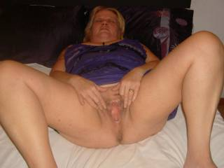 My big spread cunt, eat it, fuck it, fist it?  Tell me what you want to do with my juicy cunt! Love n kisses to all my friends Sandy xxxx
