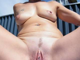 that is one sweet pussy. wish i was filling it with hard cock...