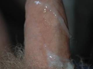 Friends cock after he came in Kay the first time while she was on top. Wanted to slurp off the cum myself, but Kay doesnt know yet!