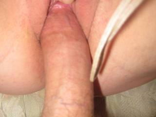 I do! Would she like to feel my big hard cock inside her wet pussy?