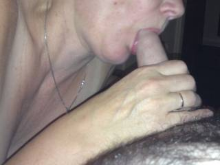 Very! Love to feel your lips wrapped around my swollen cock