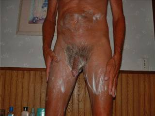 Glad U too a bath!  Now come fuck me with that clean cock...lets get it wet and dirty!!