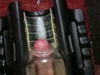 a video shot in slo-mo of me fucking my fleshlight and shooting some hot cum in slo-motion, POV style. very hot to see!