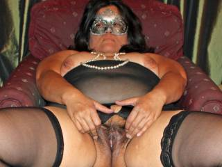 Is there a stud out there who is willing to cover a mature bbw in his cum?