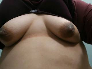 Work bathroom tits