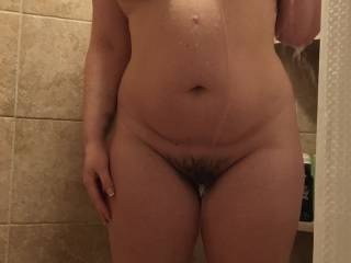 Snapped a pic while she was in the shower...she's so fucking hot!