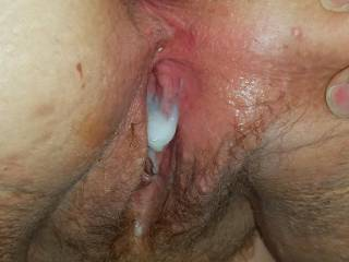 Do you like the taste of semen mixed with pussy juice