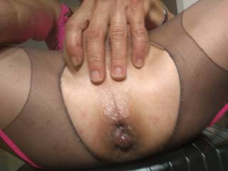 Love gaping that ass ready for the real deal maybe even 2 at same time