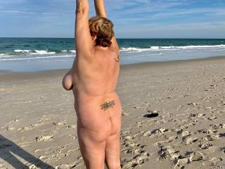 Fla Nude on the beach