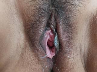 After a long hard fuck session !!