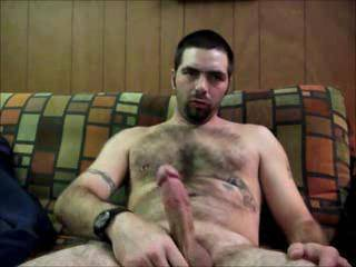Dude you are so good looking. Hope to see more vids of you. Love your hairy body.