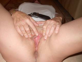 """Now I would like to eat that and make her cum in my face then when she in nice and wet I would lide my hard cock into her and fuck that pussy deep and hard """"BAREBACK""""..."""