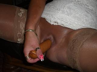 It would feel better if that was my cock fucking you!
