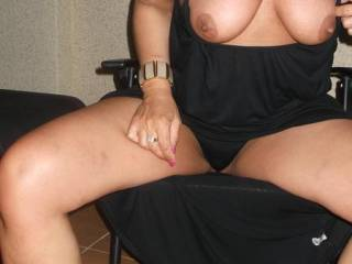 Very horny....can I cum and unbore you ?