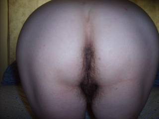 I like your hairy pussy and ass,mmmmmmwanna lick it both for a long time.