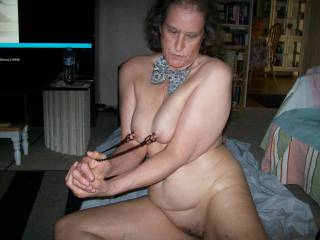 my wife getting turned on by a good pull