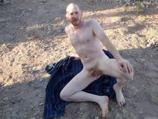 Amateur guy Jim outdoors