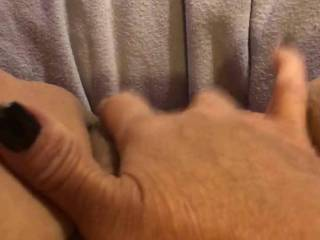 Fingering my pussy, I'm so horny right now I was chatting with a man on my video while I finger fucked myself and he masturbated, I need to be fucked, I have not been fucked for about three weeks, any takers