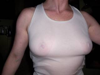 My girlfriend and her lovely big breasts