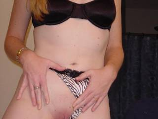 Looking at your beautiful body with sexy lingerie got my cock as hard as it can be! I just can't stop stroking my hard cock looking at this pic!