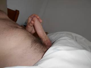 And I would like to  Mmmm nice uncut cock