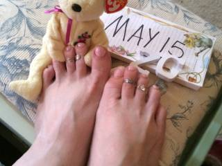 I want to tease your sweet toes everytime you want  --  I love them, they are soooo beautiful  !!