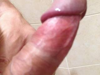 Me before penetration a wet pussy😉😊