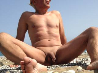 another horny beach visit