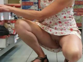 Girls!...a question!  Do you like shopping alone...without panties?Because it's very exciting :) I hope everyone likes it...