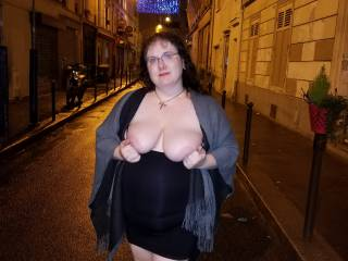 On my way back from the sex club in Paris. Would you fuck me in the alley?