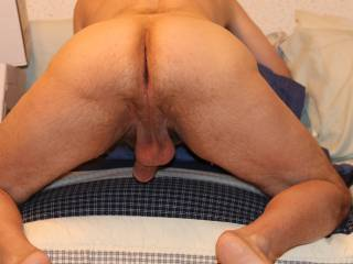 my hard cock and ass