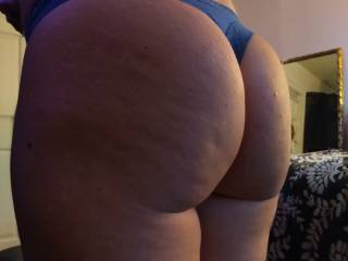Melissa's big butt. From last weeks set.