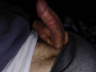Throbbing hard cock but no where to put do you have a place?